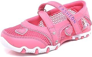 b49dbf331281 M V Kids Shoes Lightweight Princess Walking Shoes Girls Summer Breathable  Mesh Sandals Outdoor Non-Slip