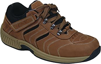 Orthofeet Proven Plantar Fasciitis and Foot Pain Relief. Extended Widths. Best Orthopedic Diabetic Men's Walking Shoes Shreveport
