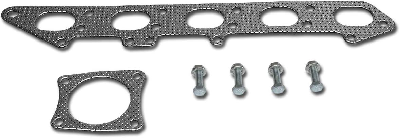 DNA Motoring Fees free GKTSET-VL850 Aluminum Gaske Exhaust favorite Manifold Header