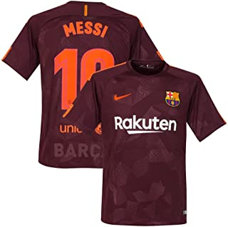 Barcelona 3rd Messi Jersey 2017 / 2018 (Official Printing) - M