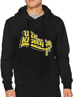 DorotyRTrumbauer Wiz Khalifa Men's Hoodie Performance Athletic Casual Pullover Sweatshirt