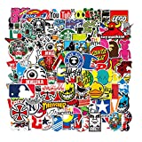 Nertpow Cool Brand Stickers 101 Pack Decals for Laptop Computer Skateboard Water Bottles Car Teens...