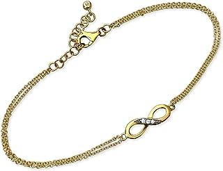 47b746d9 Amazon.es: pulseras infinito - Oro amarillo: Joyería