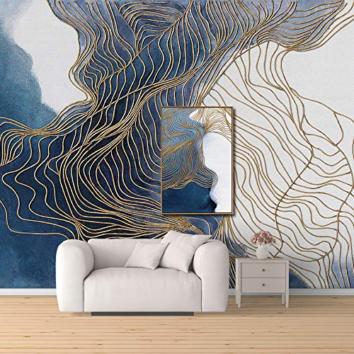 wall26 Wall Mural Creative Idea Abstract Lines Removable Self-Adhesive Large Wallpaper - 66x96 inches