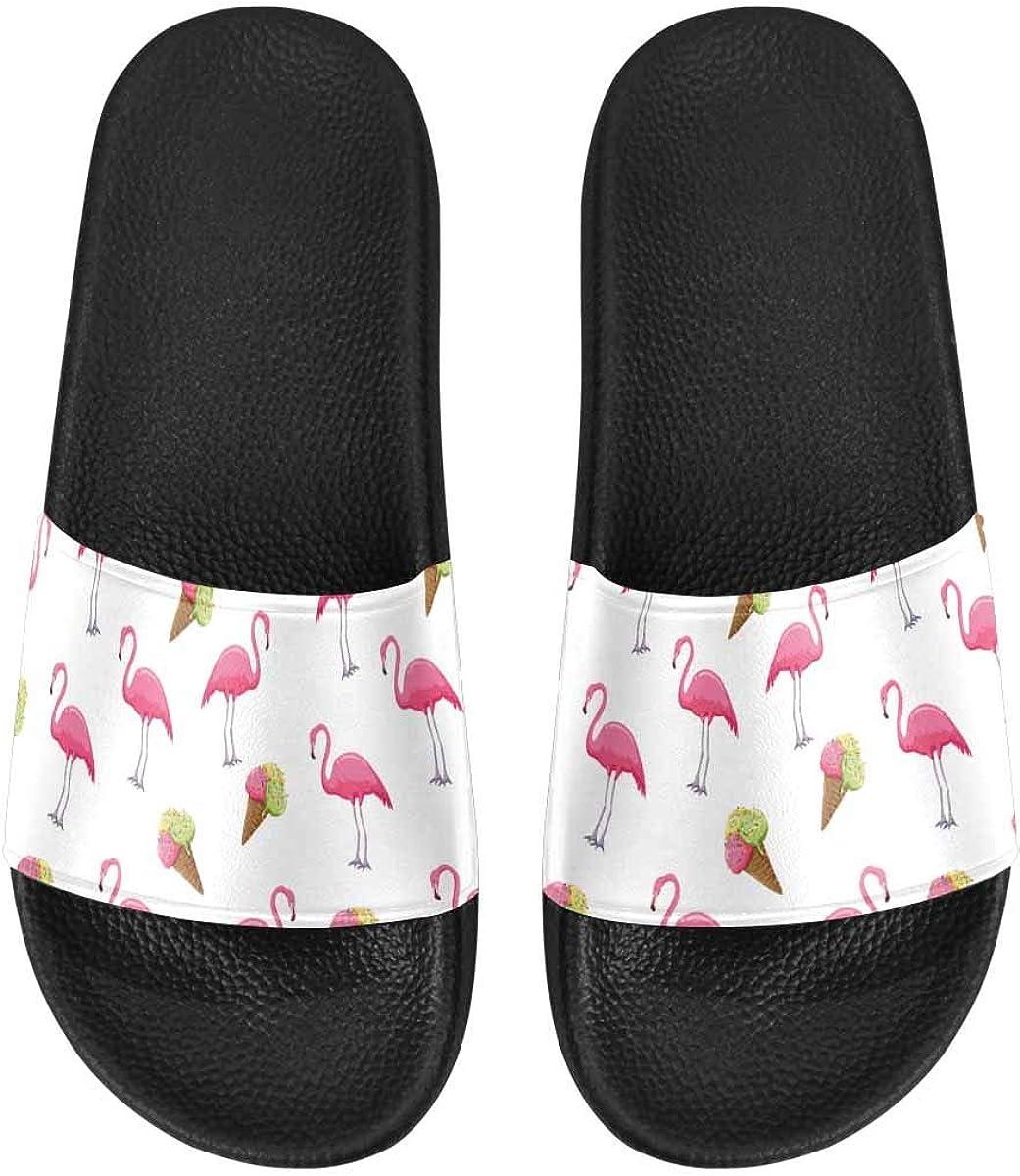 InterestPrint Women's Comfortable Indoor Shower Slippers US6-US1