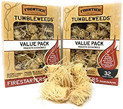 Royal Oak Enterprises LLC Tumbleweeds Firestarters Value Pack - Frontier (2 Pack)