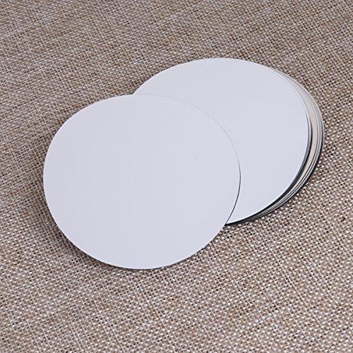 BESTOMZ 6 unids Disco de vertedor de Vino - Drip Stop Pour Spouts Reutilizable Drop Stop Disk (Plata)