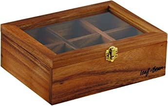 Leaf & Bean Leaf&Bean Acacia Wood Tea Box