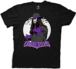 WWE Vintage Undertaker with Logo Adult T-Shirt