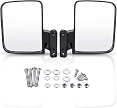 Audew Golf Cart Mirrors - Universal Folding Side View Mirror for Golf Cart as Club Car, EZGO, Yamaha, Star, Zone Carts