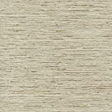 RoomMates RMK9031WP Faux Grasscloth Non-Textured Peel and Stick Wallpaper,Tan