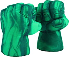 The Hulk Boxing Gloves Smash Hands Fists Incredible Hulk Soft Plush Toys Cosplay Superhero Costume Gloves, Birthday Gifts ...