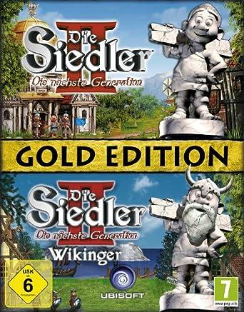 Die Siedler Ii Die Nächste Generation Gold Edition Software Pyramide Amazon De Games