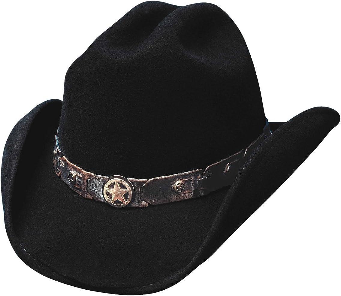 Bullhide Hats 0454Bl Lil' Pardner Collection Sidekick 5 ☆ very popular Black Cowb Store