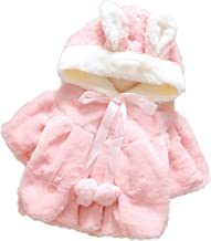 Outwear Coats Winter New with Bag Thickening Baby Cotton Coat Cute Rabbit Ears Hooded
