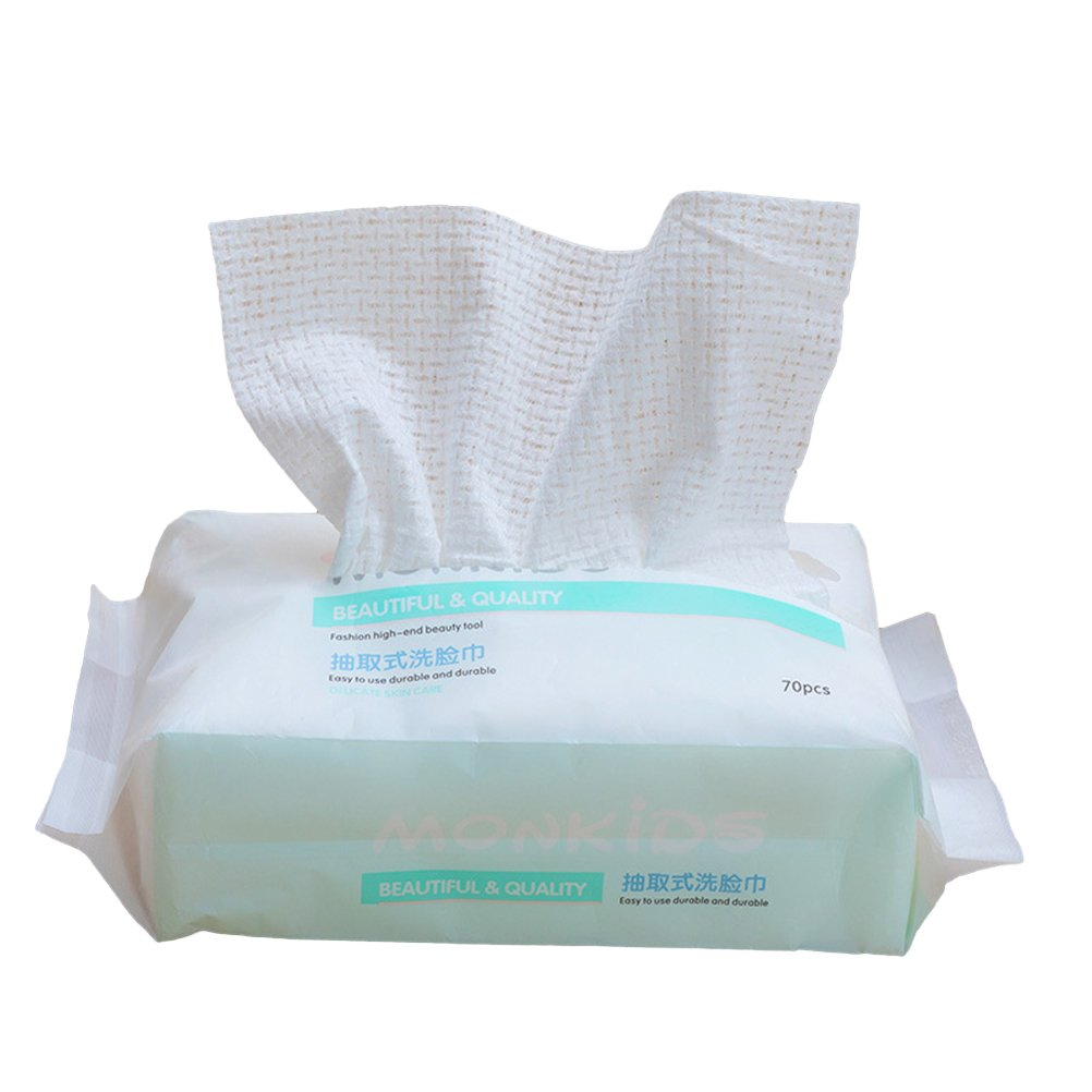 Lurrose Wet and Dry Max 46% OFF Atlanta Mall Facial Removable Cleansing Towel Disposable