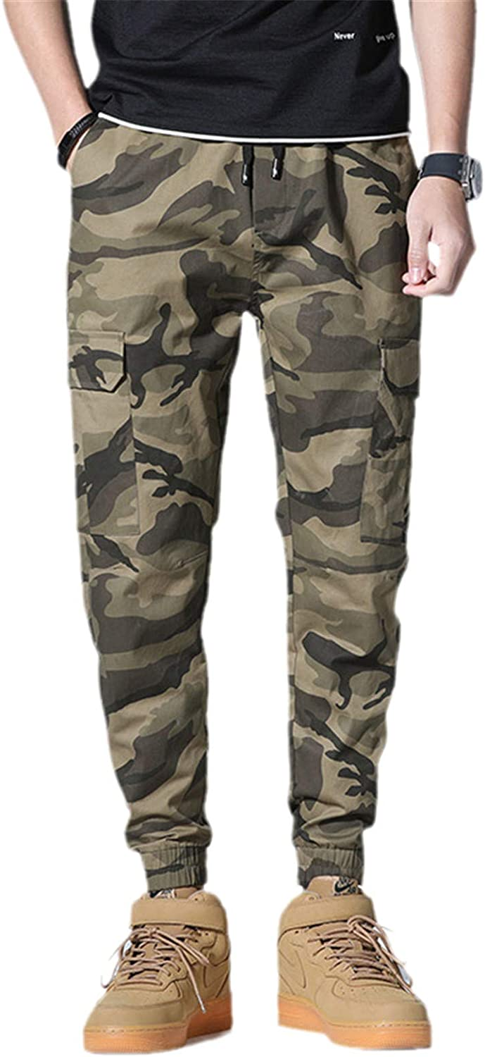 5 ☆ popular GUOYUXIAO Men's Joggers Pants St Camouflage Cargo Military Sales results No. 1