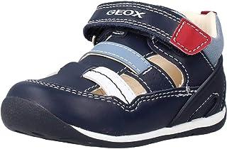 Geox B Each Boy A, Sneakers Basses Garçon