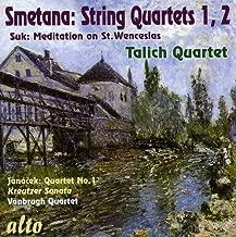 Smetana: String Quartets Nos. 1 & 2 / Suk: Meditation on St. Wenceslas / Janacek: Quartet No. 1 - Kreutzer Sonata