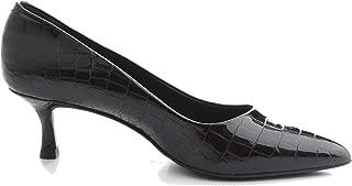 ALBANO Luxury Fashion Womens 1071BLACK Black Pumps | Fall Winter 19