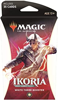 Magic The Gathering: Magic The Gathering: Ikoria: Lair of Behemoths - Theme Pack - White (35 Cards)