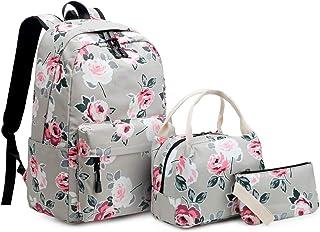 حقيبة ظهر مدرسية للبنات في سن المراهقة حقائب مدرسية خفيفة الوزن للأطفال بنات حقائب مدرسية حقائب ظهر مجموعات