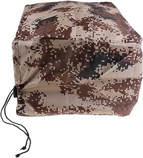 Baoblaze Desert Camouflage Waterproof Outboard Motor Hood Boat Cover, Universal & Trailerable