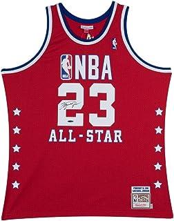 Michael Jordan Signed Autograph Jersey 1989 Red Mitchell   Ness All-Star UDA  COA 8f814fc28