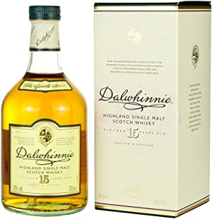 Dalwhinnie Single Malt Highland Whiskey 15 Jahre 0,7l 43%