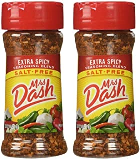 Mrs. Dash Extra Spicy Blend - 2.5 oz, Pack of 2