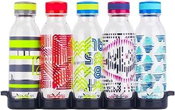 Reduce WaterWeek Reusable Water Bottles, 20oz – 5 Plastic Refillable Water Bottles Plus Fridge Tray For Your Reusable Wate...