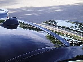HIGUMA Carbon Look for 2016 2017 2018 2019 Honda Civic Coupe 2D Rear Window Roof Spoiler