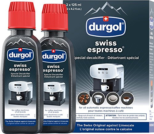 Durgol Swiss Decalcifier for All Brands of Espresso, Small