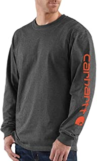 Men's Signature Sleeve Logo Long Sleeve T-Shirt