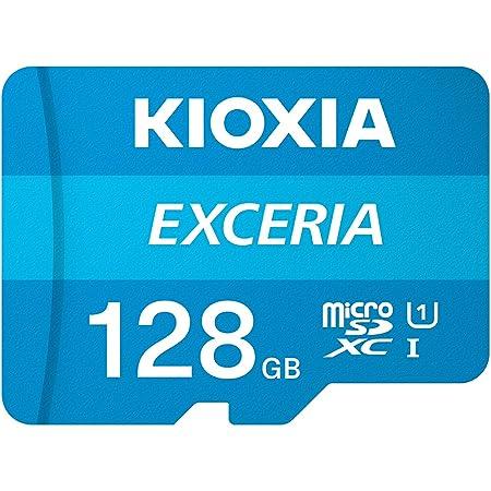 microSDXC 128GB EXCERIA 超高速UHS-I KIOXIA(旧東芝メモリー)+ SDアダプター + 保管用クリアケース [並行輸入品]