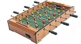 جدول كرة القدم Wooden Foosball Table With Ball, Portable Multiplayer Mini Table Football, Foosball Games For Party And Fam...
