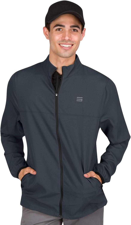 Mens Windbreaker Popular popular Jackets - Zippered Golf Popular brand Jacket Wind Breaker V