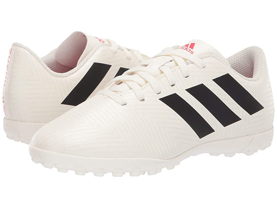 adidas Kids Nemeziz 18.4 TF Soccer (Little Kid/Big Kid) (Off-White/Black/Active Red) Kids Shoes