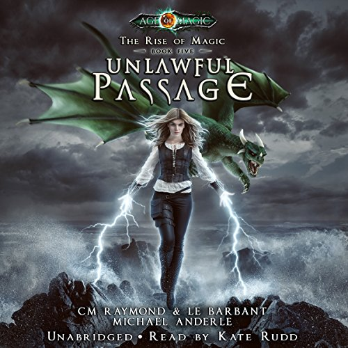 Unlawful Passage: Age of Magic audiobook cover art