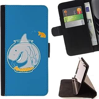 STPlus Shark Tank Aquarium Funny Wallet Card Holder Cover Case for Apple iPhone SE / 5 / 5S
