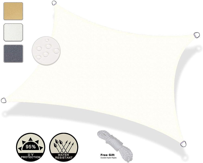 ATR Visier Tuch 5 x 5 5 5 m quadratisch wasserdicht Sonnencreme Sonnenschutz UV-Block Terrasse Gartencreme B07Q4N8NQV  Neues Produkt ff035b