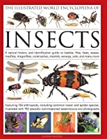 The Illustrated World Encyclopedia of Insects: A Natural History and Identification Guide to Beetles, Flies, Bees, Wasps, Mayflies, Dragonflies, Cockroaches, Damselflies, Cockroaches, Mantids, Earwigs and Many More; Featuring 650 Arthropods, Including Common Insects and Spider Species, Illustrated wit