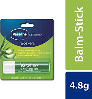 Vaseline Lip Therapy Aloe Vera Balm, 4.8 gms