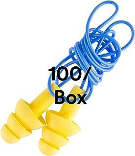 3M  340-4004 EAR Ultrafit Corded Earplugs, 100-Pair,Yellow