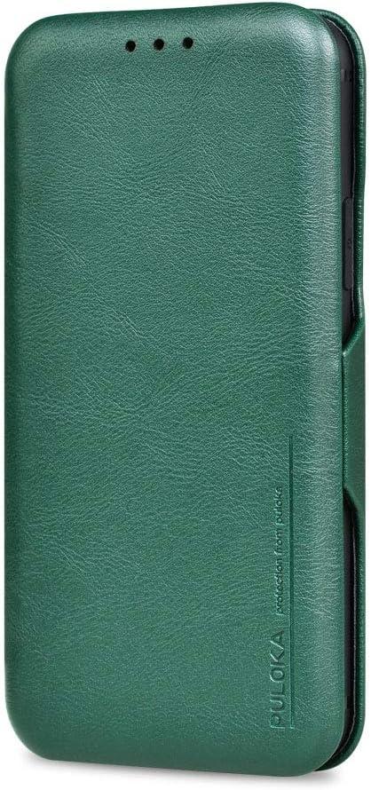 iPhone 7 Plus/iPhone 8 Plus Flip Case Slim - PULOKA Premium PU Leather Folio Cover Magnetic Closure Ultra Thin Wallet Leather Case for iPhone 7/8 Plus (5.5