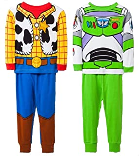 Boys Disney Toy Story Pyjamas Pj/'s Size 2-3 and 3-4 years Brand New!!!