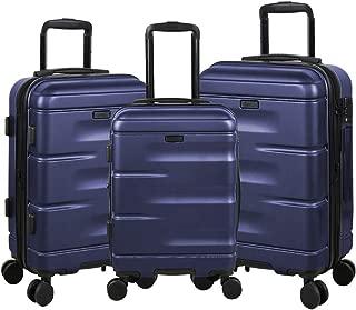 navy luggage set