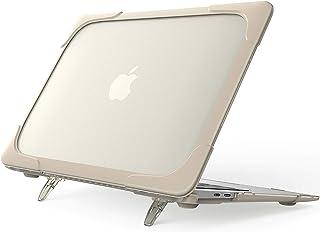 "ProCase MacBook Air 13"" ケース 2020/2019/2018発売 衝撃吸収 軽量 ハードシェル ARMOR保護カバー 折りたたみ式タンド付き 適用機種:Apple MacBook Air 13"" Retinaディスプレイ..."