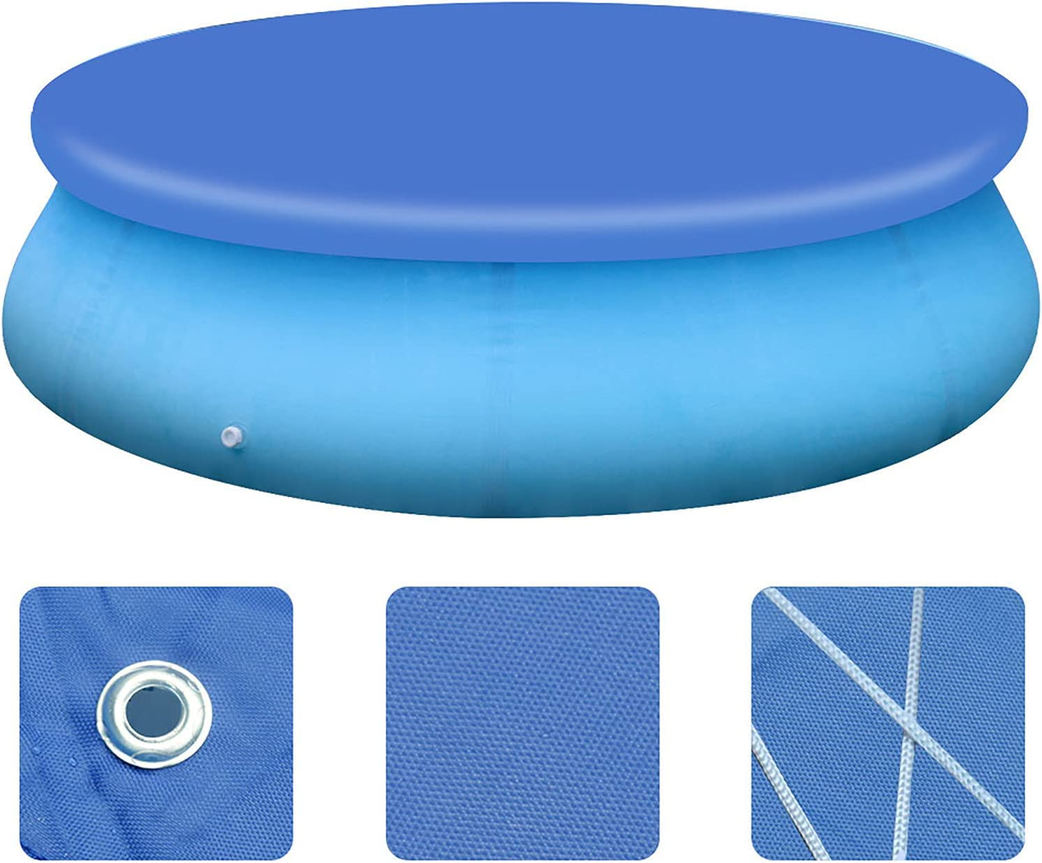 Dust Pool Cover 人気急上昇 Protector Solar Pools 10%OFF Round Frame Ea for