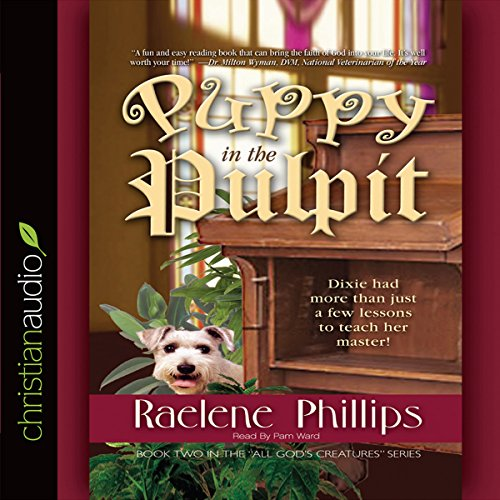 The Puppy in the Pulpit audiobook cover art